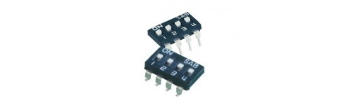 Dip switch, Tact switch, Switch