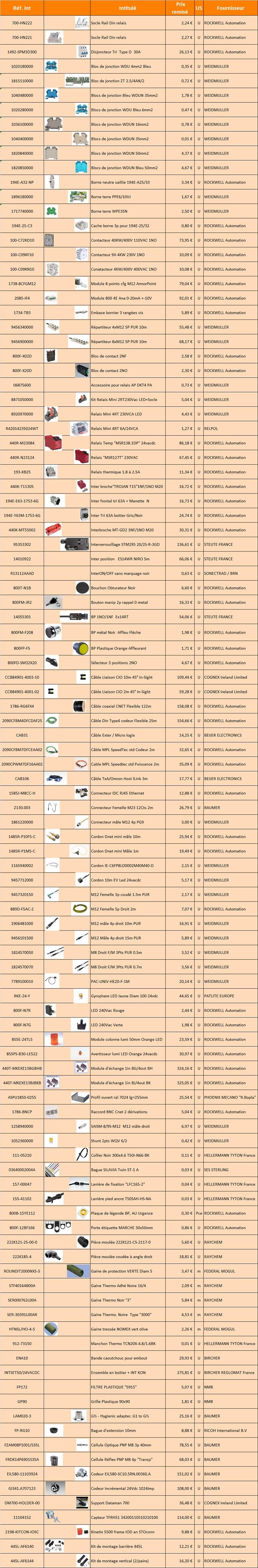 Liste destockage 09092019 V2