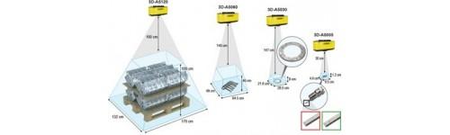 Caméra matricielle 3D 3D-A5000